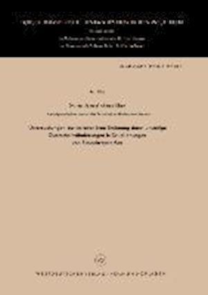 Untersuchungen Zur Instationaren Stromung Durch Unstetige Querschnittsanderungen in Druckleitungen Von Einspritzsystemen af Jameel Ahmad Khan, Jameel Ahmad Khan