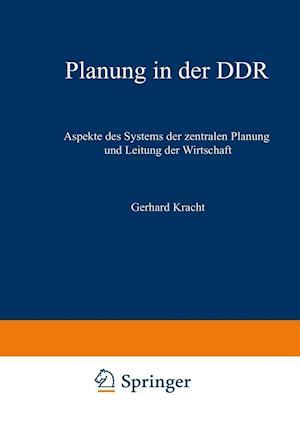 Planung in Der Ddr af Gerhard Kracht