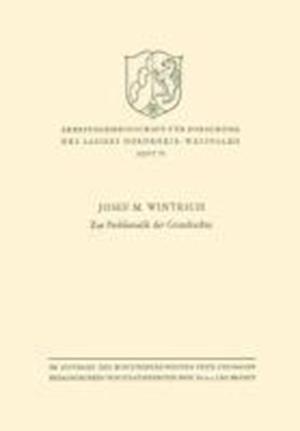 Zur Problematik Der Grundrechte af Josef M. Wintrich, Josef M. Wintrich