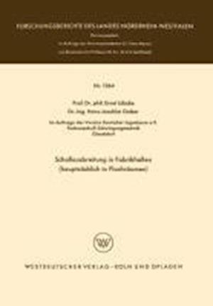 Schallausbreitung in Fabrikhallen (Hauptsachlich in Flachraumen) af Ernst Lubcke