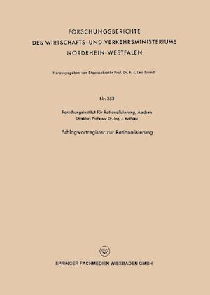 Schlagwortregister Zur Rationalisierung af J. Mathieu