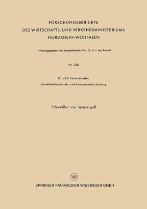 Schweissen Von Temperguss af Hans Maeder