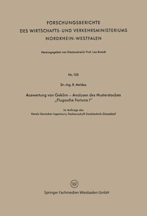 Auswertung von Gekorn - Analysen des Musterstaubes Flugasche Fortuna I' af Robert Meldau