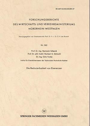Die Reduzierbarkeit von Eisenerzen af Hermann Schenck