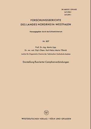 Darstellung fluorierter Camphanverbindungen af Maria Lipp