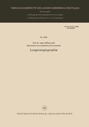 Lungenangiographie af Wilhelm Bolt