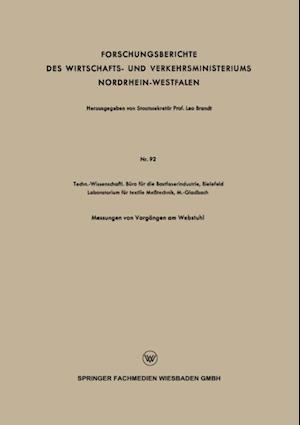 Forschungsberichte des Wirtschafts- und Verkehrsministeriums Nordrhein-Westfalen af Staatssekretar Prof. Leo Brandt