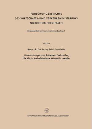 Untersuchungen von kritischen Drehzahlen, die durch Kreiselmomente verursacht werden af Ernst Oehler