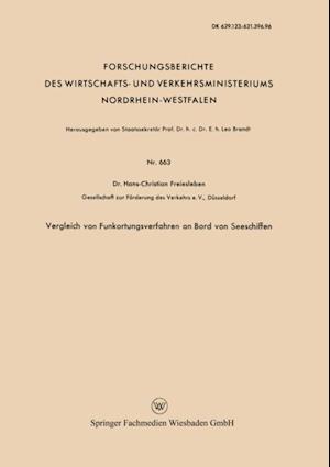Vergleich von Funkortungsverfahren an Bord von Seeschiffen af Hans Christian Freiesleben
