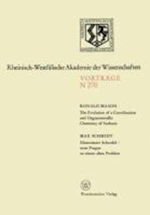 The Evolution of a Coordination and Organometallic Chemistry of Surfaces. Elementarer Schwefel Neue Fragen Zu Einem Alten Problem af Ronald Mason