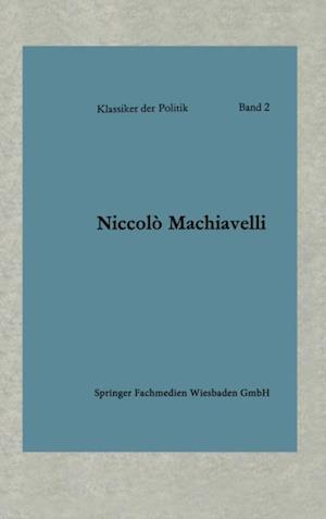 Politische Betrachtungen uber die alte und die italienische Geschichte af Niccolo Machiavelli