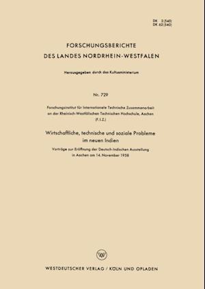 Wirtschaftliche, technische und soziale Probleme im neuen Indien af H. Heinrich, S. A. Biswas, W. Von Pochhammer