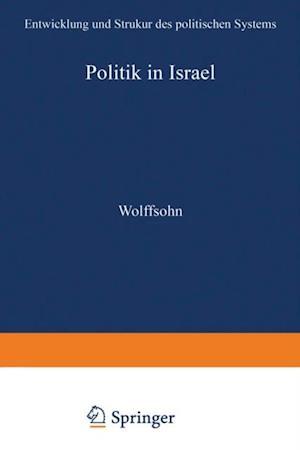 Politik in Israel af Michael Wolffsohn