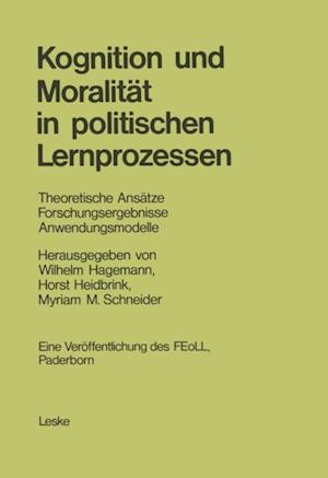 Kognition und Moralitat in politischen Lernprozessen af Wilhelm Hagemann