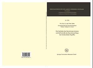 Das Verhalten Des Herzminutenvolumens Und Die Kontrolle Des Operationserfolges Bei Intrakardialen Eingriffen af Peter Satter, Peter Satter