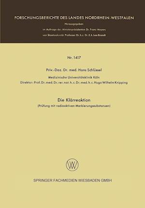 Die Klarreaktion af Hans Schlussel