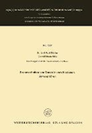 Brennverhalten Von Tonen in Verschiedenen Atmospharen af Emil Karl Kohler, Emil Karl Kohler
