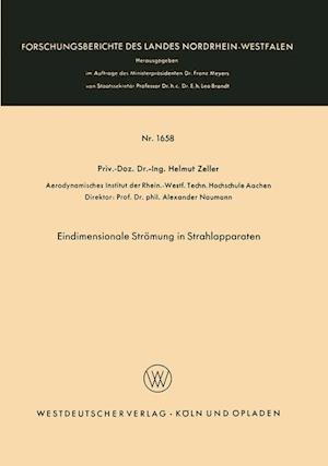 Eindimensionale Stromung in Strahlapparaten af Helmut Zeller, Helmut Zeller