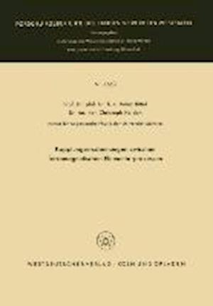 Kopplungserscheinungen Zwischen Ferromagnetischen Elementarprozessen af Heinz Bittel, Heinz Bittel