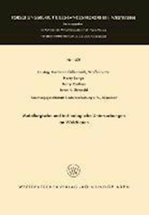 Metallurgische Und Technologische Untersuchungen an Weichloten af Harry Parthey, Harry Lange, Hermann Fullenbach