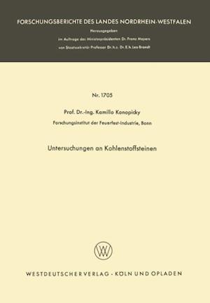 Untersuchungen an Kohlenstoffsteinen af Kamillo Konopicky, Kamillo Konopicky