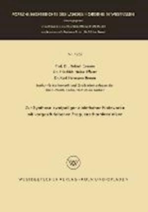 Zur Synthese Zweipoliger Elektrischer Netzwerke Mit Vorgeschriebenen Frequenzcharakteristiken af Hubert Cremer, Karl Hermann Breuer, Friedrich Heinz Effertz