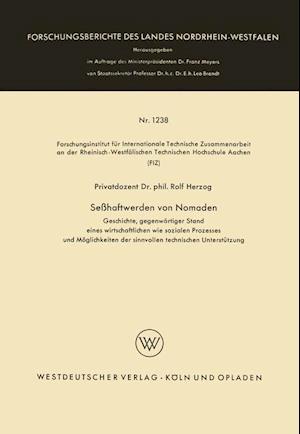 Sesshaftwerden Von Nomaden af Rolf Herzog, Rolf Herzog