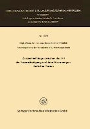 Zusammenhange Zwischen Der Art Der Faserschadigung Und Dem Filzvermogen Tierischer Fasern af Hans Gunther Frohlich, Hans Gunther Frohlich
