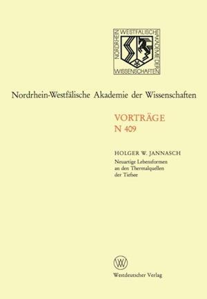 Neuartige Lebensformen an den Thermalquellen der Tiefsee af Holger W. Jannasch