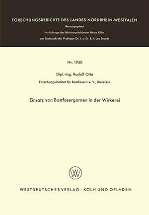 Einsatz von Bastfasergarnen in der Wirkerei af Rudolf Otto