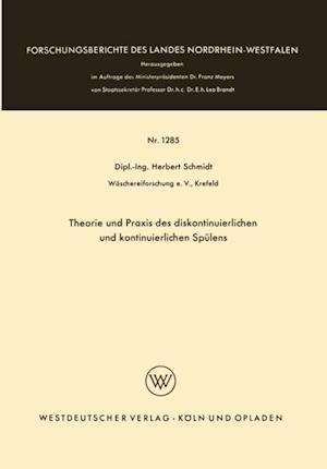 Theorie und Praxis des diskontinuierlichen und kontinuierlichen Spulens af Herbert Schmidt