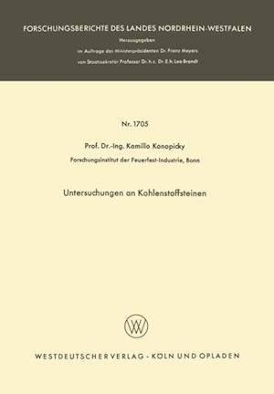 Untersuchungen an Kohlenstoffsteinen af Kamillo Konopicky