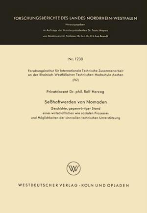 Sehaftwerden von Nomaden af Rolf Herzog