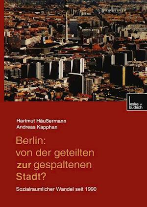 Berlin af Hartmut Haussermann