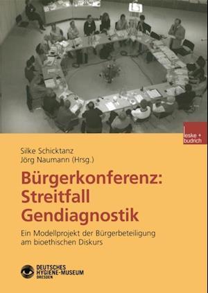 Burgerkonferenz: Streitfall Gendiagnostik