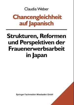 Chancengleichheit auf Japanisch af Claudia Weber