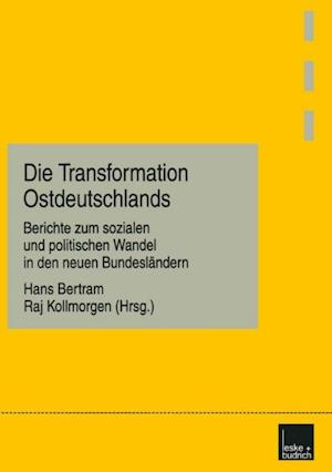 Die Transformation Ostdeutschlands
