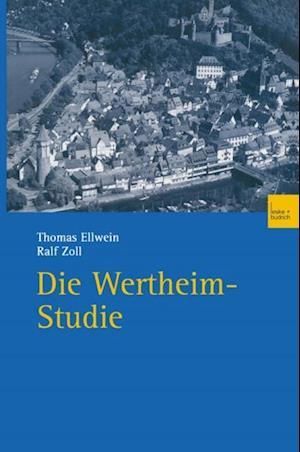 Die Wertheim-Studie af Ralf Zoll, Thomas Ellwein