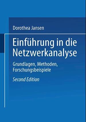 Einfuhrung in die Netzwerkanalyse af Dorothea Jansen
