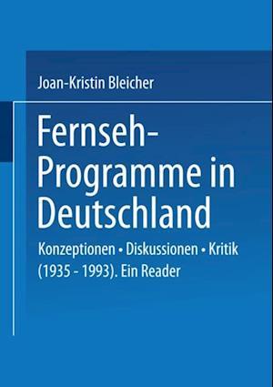 Fernseh-Programme in Deutschland