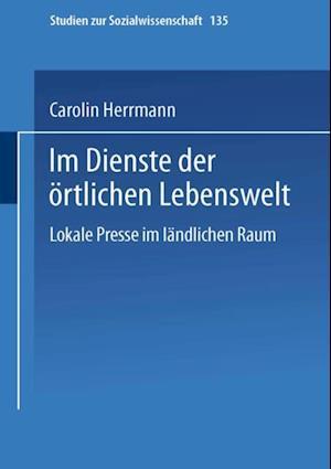 Im Dienste der ortlichen Lebenswelt af Carolin Herrmann