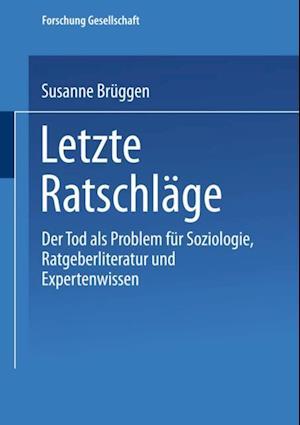 Letzte Ratschlage af Susanne Bruggen