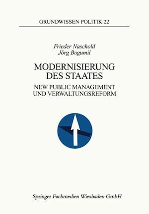 Modernisierung des Staates af Jorg Bogumil, Frieder Naschold