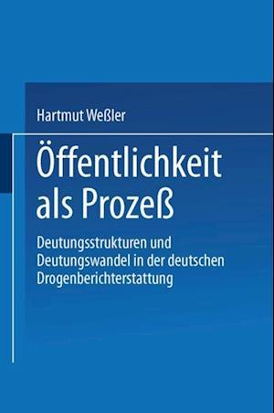 Offentlichkeit als Proze af Hartmut Weler