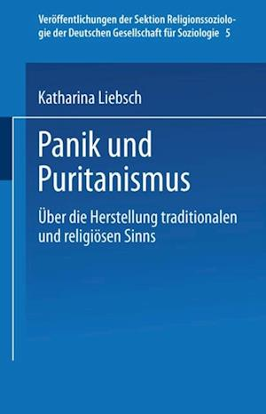 Panik und Puritanismus af Katharina Liebsch