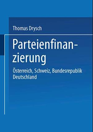 Parteienfinanzierung af Thomas Drysch