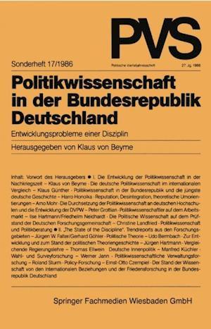 Politikwissenschaft in der Bundesrepublik Deutschland