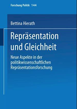 Reprasentation und Gleichheit af Bettina Hierath