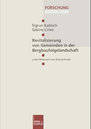 Revitalisierung von Gemeinden in der Bergbaufolgelandschaft af Sigrun Kabisch, Sabine Linke