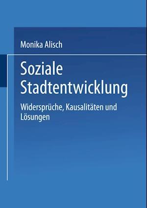 Soziale Stadtentwicklung af Monika Alisch